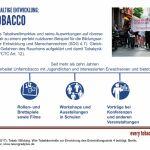 Grafik Unfairtobacco, SDG-Factsheet Tabak   Bildung